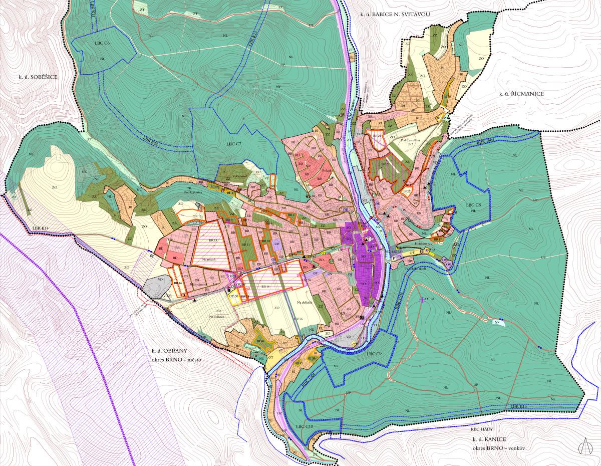 Územní plán Bílovice nad Svitavou